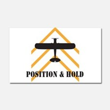 Aviation Car Magnet 20 x 12