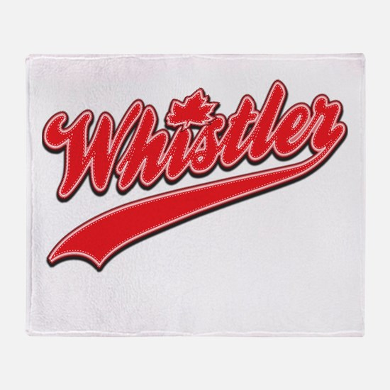 Whistler Tackle and Twill Throw Blanket
