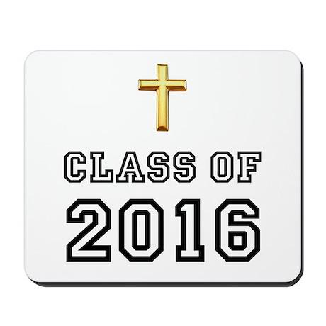 Class Of 2016 Cross Mousepad