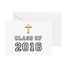 Class Of 2016 Cross Greeting Card