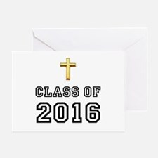 Class Of 2016 Cross Greeting Card