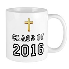 Class Of 2016 Cross Mug
