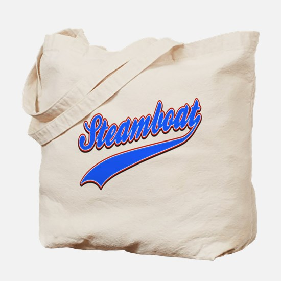 Steamboat Tackle and Twill Tote Bag
