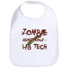 Zombie Hematology Lab Tech Bib