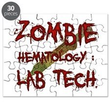 Zombie Hematology Lab Tech Puzzle