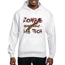 Zombie Hematology Lab Tech Hoodie