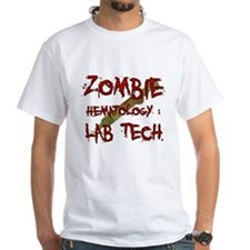 Zombie Hematology Lab Tech Shirt