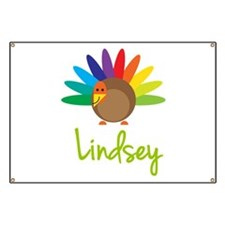 Lindsey the Turkey Banner