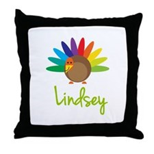 Lindsey the Turkey Throw Pillow