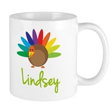 Lindsey the Turkey Small Mugs