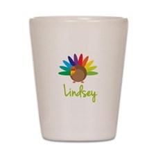 Lindsey the Turkey Shot Glass