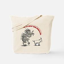 Cute Chupacabra Tote Bag