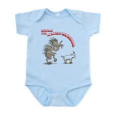 Cute Monster humor Infant Bodysuit
