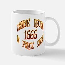Zombie Recon 1666 Mug