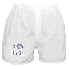 Know Thyself Boxer Shorts