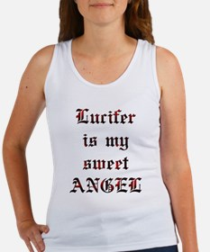 Lucifer Is My Sweet Angel Women's Tank Top