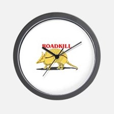 Roadkill Wall Clock