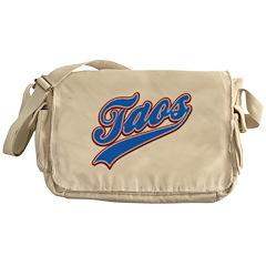 Taos Tackle and Twill Messenger Bag