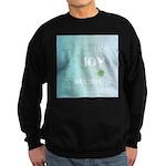 Joy Rising Aqua Sky Sweatshirt (dark)