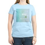 Joy Rising Aqua Sky Women's Light T-Shirt