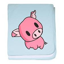 Clean Piggy baby blanket