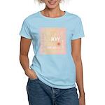 Joy Rising Pink and Peach Women's Light T-Shirt