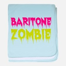 Baritone Zombie baby blanket