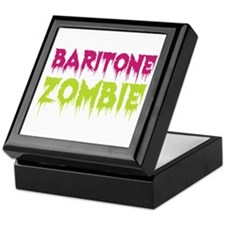 Baritone Zombie Keepsake Box