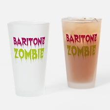 Baritone Zombie Drinking Glass
