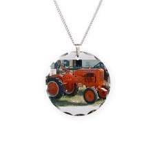 1937 Allis Chalmer Tractor Necklace
