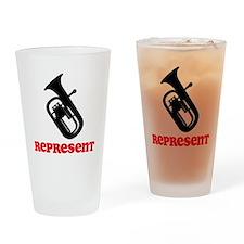 Baritone Represent Drinking Glass