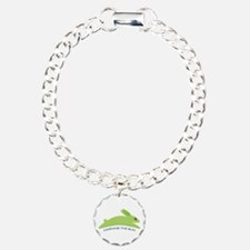 Gwennie The Bun Charm Bracelet, One Charm
