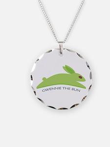 Gwennie The Bun Necklace