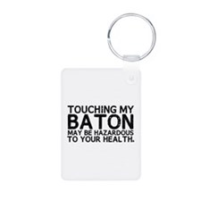 Baton Hazard Keychains