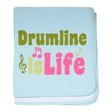 Drumline is Life baby blanket