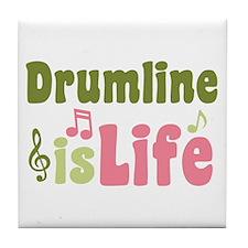 Drumline is Life Tile Coaster