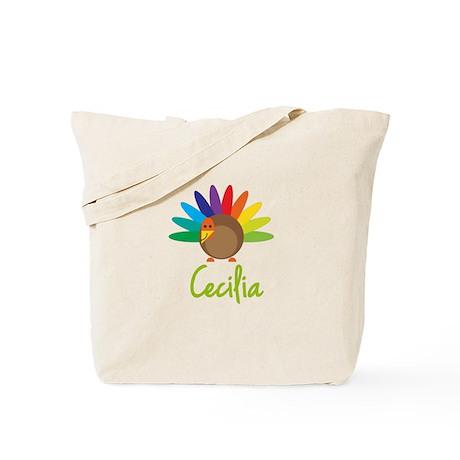 Cecilia the Turkey Tote Bag