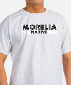 Morelia Native Ash Grey T-Shirt