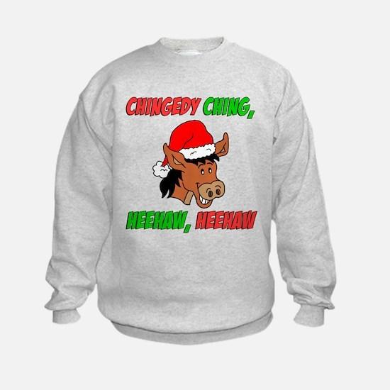 Italian Christmas Donkey Sweatshirt