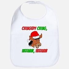 Italian Christmas Donkey Bib