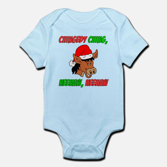 Italian Christmas Donkey Infant Bodysuit