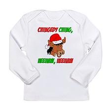 Italian Christmas Donkey Long Sleeve Infant T-Shir