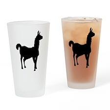 Llama Glama Drinking Glass