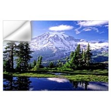 Mount Rainier National Park Wall Decal