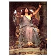 Circe offering cup to Ulysses Poster