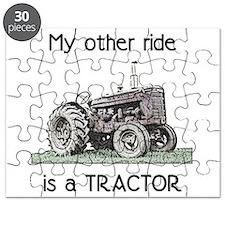 Ride a Tractor Puzzle