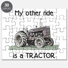 Ride a Tractor Puzzle