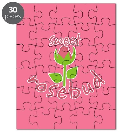 Sweet Rosebud Puzzle