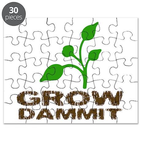 Grow Dammit Puzzle