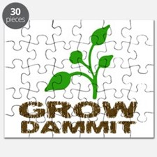 Grow Dammit Puzzle